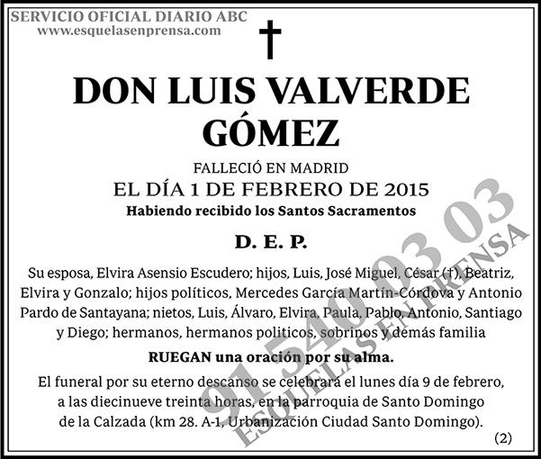 Luis Valverde Gómez